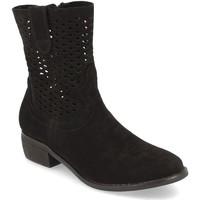 Chaussures Femme Bottines Buonarotti 1S-1097 Negro
