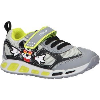 Chaussures Garçon Multisport Geox J0294A 01454 J SHUTTLE Gris