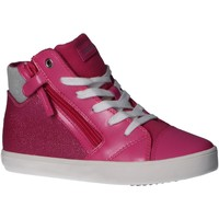 Chaussures Fille Baskets montantes Geox J024ND 000NF J GISLI Rosa