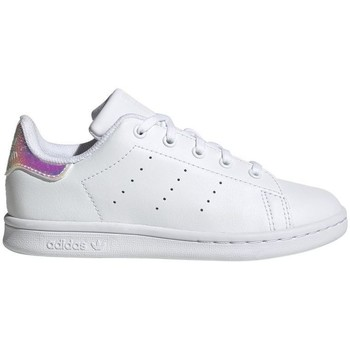 Chaussures Baskets basses adidas Originals STAN SMITH CF C - FU6674 BLANC