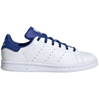 Chaussures Baskets basses adidas Originals Basket  STAN SMITH J - FW4492 BLANC
