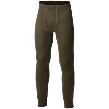 Sous-vêtements Homme Caleçons Woolpower Ullfrotté Long Johns With Fly 400 Vert Olive