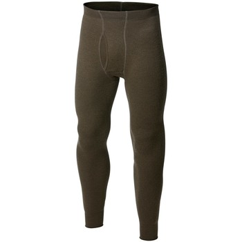 Sous-vêtements Homme Caleçons Woolpower Ullfrotté Long Johns With Fly 200 Vert Olive