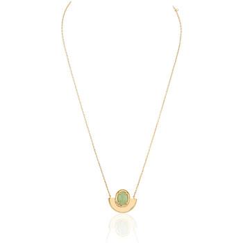 Montres & Bijoux Femme Colliers / Sautoirs Yucatan Collier  en Plaqué Or Jaune