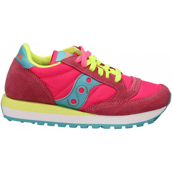 Chaussures Femme Baskets basses Saucony JAZZ O W pink-yello
