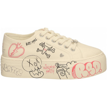 Chaussures Femme Baskets basses Windsor Smith RIDIN white