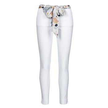 Vêtements Femme Pantalons 5 poches Betty London OUMA Blanc