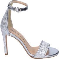 Chaussures Femme Sandales et Nu-pieds Olga Rubini BJ401 Argenté