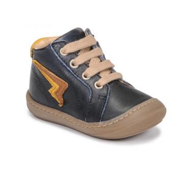 Chaussures Garçon Baskets montantes GBB APODAMI Bleu