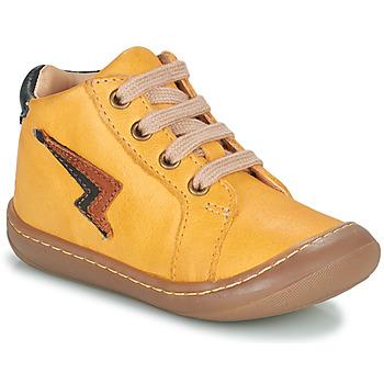 Chaussures Garçon Baskets montantes GBB APODAMI Jaune