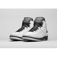 Chaussures Baskets montantes Nike Air Jordan 2 Wing It White/Black-Cool Grey
