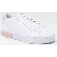 Chaussures Baskets basses Puma CALI STAR BLANC/PEACH Blanc