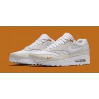 Chaussures Baskets basses Nike Air Max 1 Kumquat White/White-Kumquat