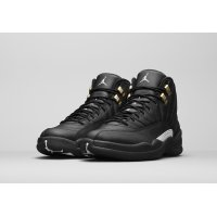 Chaussures Baskets montantes Nike Air Jordan 12 The Master Black/White-Metallic Gold