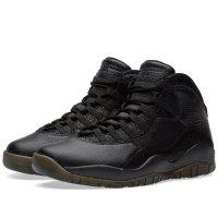 Chaussures Baskets montantes Nike Air Jordan 10 x OVO Black Black/Black-Metallic Gold