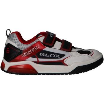 Chaussures Garçon Multisport Geox J02BRA 014BU J INEK Blanco