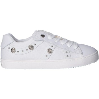 Chaussures Fille Baskets mode Geox J02D5A 01085 J KILWI Blanco