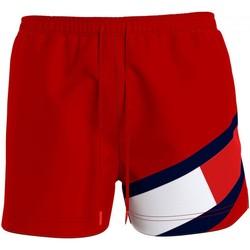 Vêtements Homme Maillots / Shorts de bain Tommy Hilfiger UM0UM02048 Rouge