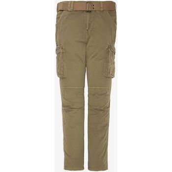 Vêtements Homme Pantalons cargo Schott TRRANGER70 BEIGE Beige