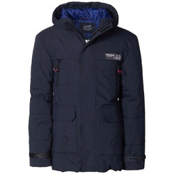 Vêtements Garçon Parkas Petrol Industries JAC1170 5097 BLACK NAVY bleu marine