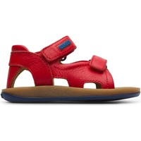 Chaussures Enfant Sandales et Nu-pieds Camper Sandales cuir BICHO rouge