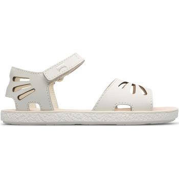 Chaussures Fille Sandales et Nu-pieds Camper Sandales cuir MIKO blanc