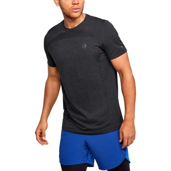 Vêtements Homme T-shirts manches courtes Under Armour Rush HG Seamless Fitted Graphite