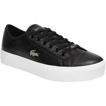 Chaussures Femme Baskets basses Lacoste  Negro