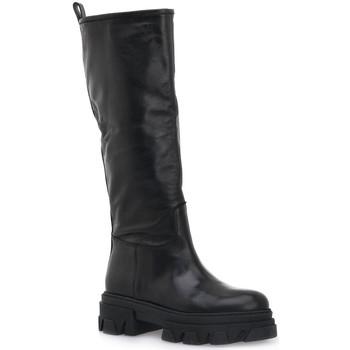 Chaussures Femme Bottes ville Priv Lab VITELLO NERO Nero