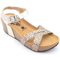 Chaussures Femme Sandales et Nu-pieds Plakton so final Doré