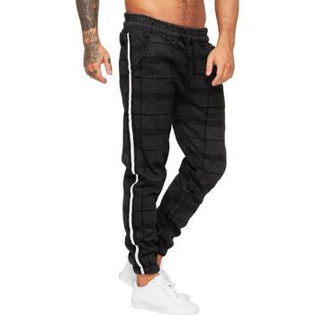 Vêtements Homme Pantalons de survêtement Cabin Jogging rayé pour homme Jogging 1227 noir Noir