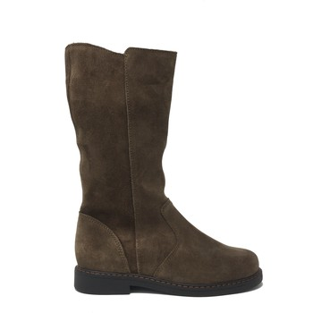 Chaussures Fille Bottines Bopy CHAUSSURE  SICRO Taupe