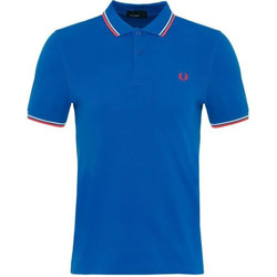 Vêtements Homme Polos manches courtes Fred Perry POLO BLEU