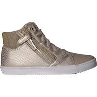 Chaussures Fille Baskets mode Geox J924NE 0QDAJ J GISLI Beige