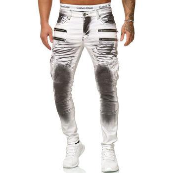 Vêtements Homme Jeans Kc 1981 Jean fashion homme Jean 5160 blanc Blanc