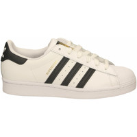 Chaussures Baskets basses adidas Originals SUPERSTAR bianco-nero