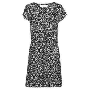 Vêtements Femme Robes courtes Only ONLNOVA Blanc / Noir