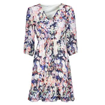 Vêtements Femme Robes courtes Only ONLZOE Blanc / Multicolore