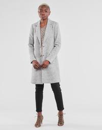 Vêtements Femme Manteaux Only ONLCARRIE Gris