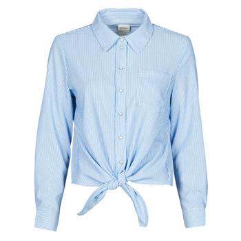Vêtements Femme Chemises / Chemisiers Only ONLLECEY Bleu