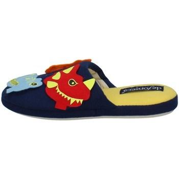 Chaussures Garçon Claquettes De Fonseca STICKART BLEU