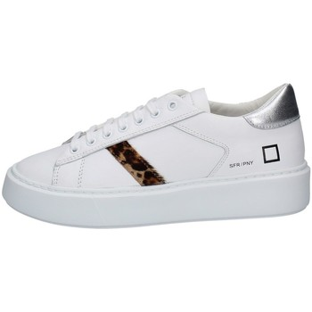 Chaussures Femme Baskets basses Date W341-SF-PN-WH BLANC