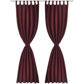 Maison & Déco Rideaux, stores VidaXL Rideau 225 cm Rouge