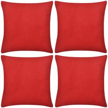 Maison & Déco Housses de coussins Vidaxl Housse de coussin 80 x 80 cm Rouge