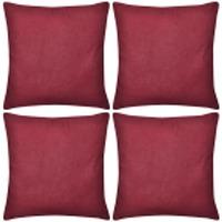 Maison & Déco Housses de coussins Vidaxl Housse de coussin 40 x 40 cm Rouge