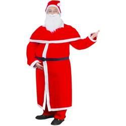 Vêtements Déguisements VidaXL Costume Père Noël Rouge