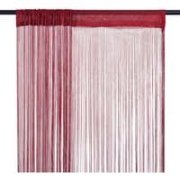 Maison & Déco Rideaux, voilages, stores Vidaxl Rideau 140 cm Rouge