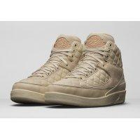 Chaussures Baskets montantes Nike Air Jordan 2  Just Don Beach Beach/Metallic Gold-University Red