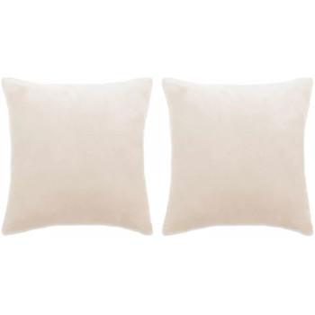 Maison & Déco Coussins Vidaxl 60 x 60 cm Blanc