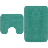 Maison & Déco Tapis de bain Vidaxl Ensemble de tapis de salle de bain Turquoise